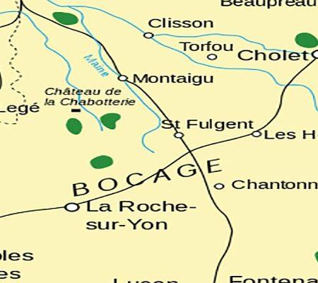 carte de Vendée